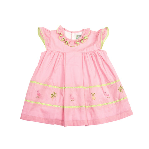 Christian Elizabeth & Co. Flagler Flamingo Dress