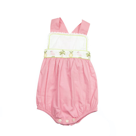 Christian Elizabeth & Co. Flagler Flamingo Sunsuit