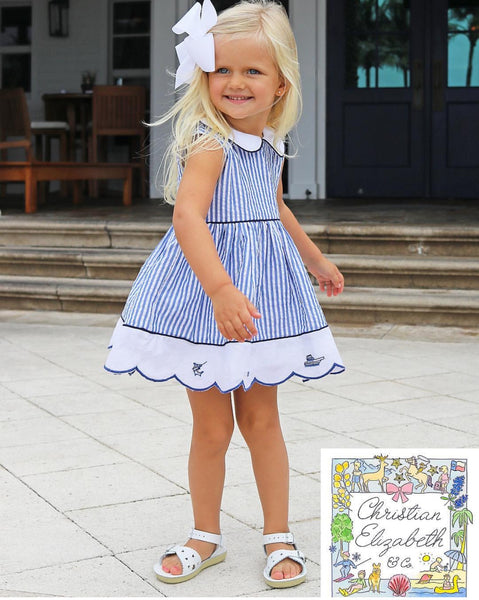 Christian Elizabeth & Co. Port Aransas Islander Dress