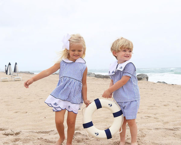 Christian Elizabeth & Co. Port Aransas Islander Dress and Short Set