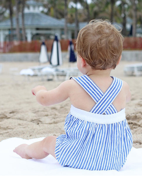 Christian Elizabeth & Co. Port Aransas Islander Sunsuit Back