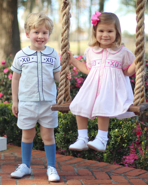 Christian Elizabeth & Co. XOXO Short Set & Dress
