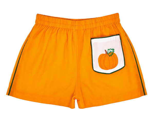 Pine Creek Pumpkin Shorts