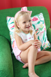 Christian Elizabeth & Co. Worth Watermelon Bloomer Set