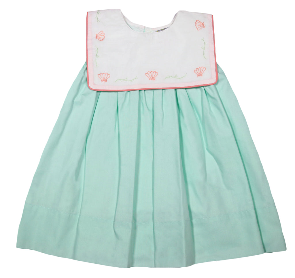 Seafoam Sea Shell Dress