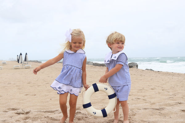 Christian Elizabeth & Co. Port Aransas Islander Short Set