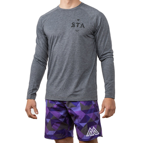 Swing the Axe Hover Long Sleeve Tee
