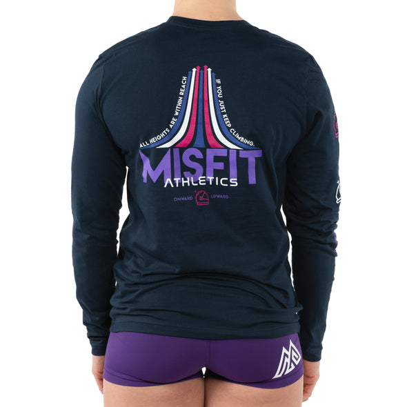 LIMITED EDITION Keep Climbing Misfit Long Sleeve
