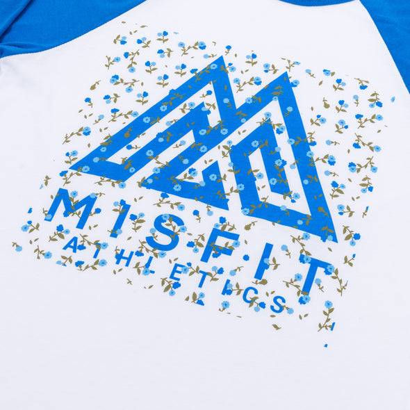 Misfit Spring Flowers Mark Raglan