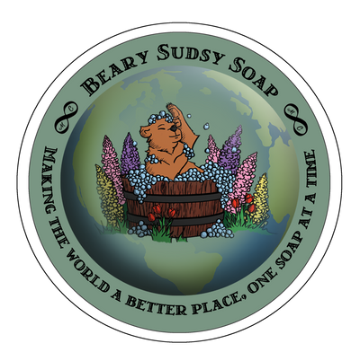 Beary Sudsy Soap