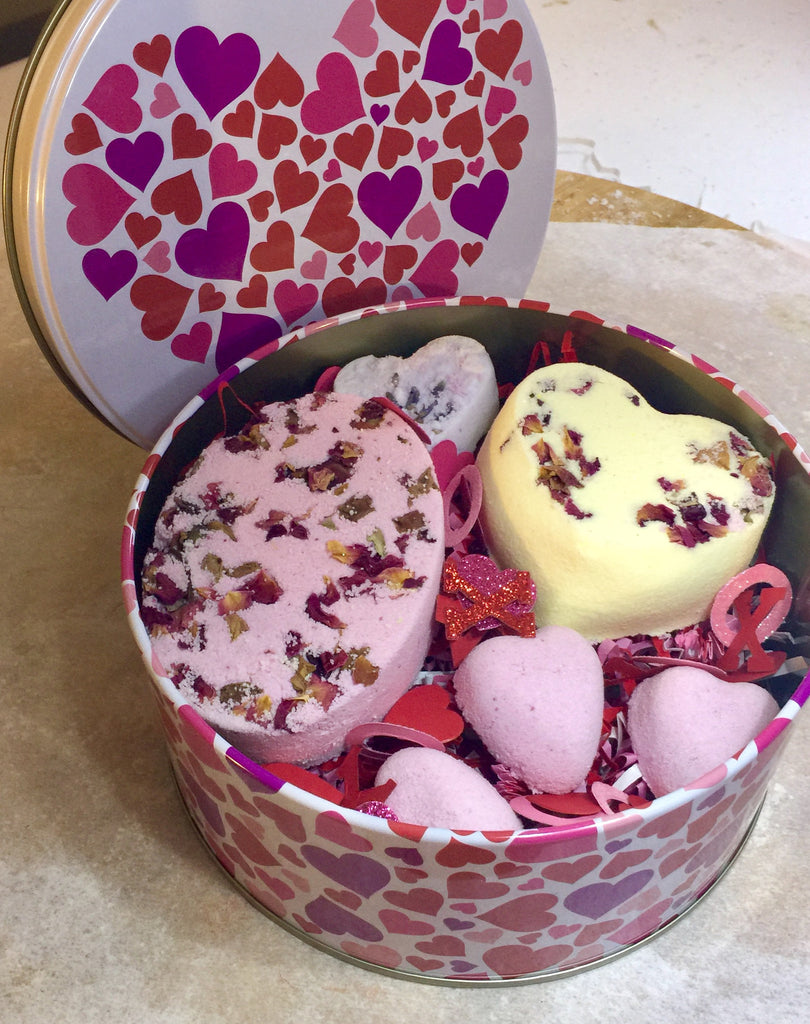 All My Heart Tart & Bath Fizzy Set   SOLD OUT!