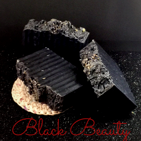 Black Beauty - Facial Beauty Bar for Combination/Oily Skin (Detox and balance oils)