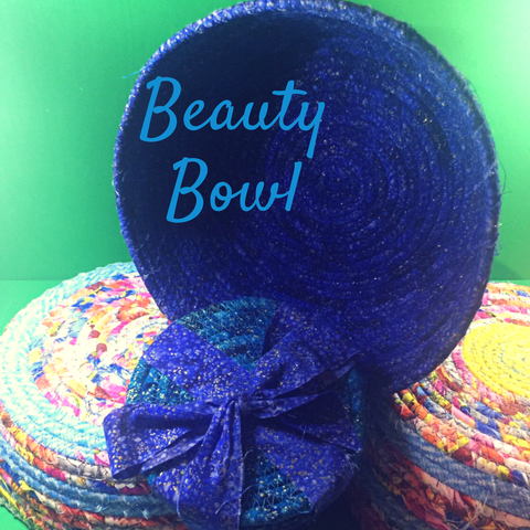 Textured Fabric Bowl