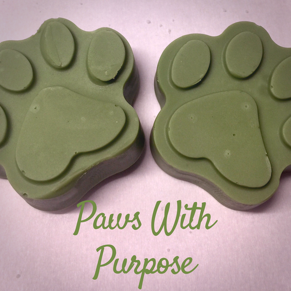 Paws With Purpose (set of two) 100% Purchase Donation!