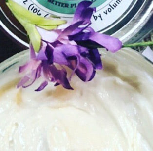 Better Body Butter - Coconut Oil Free!  (8 oz by volume)