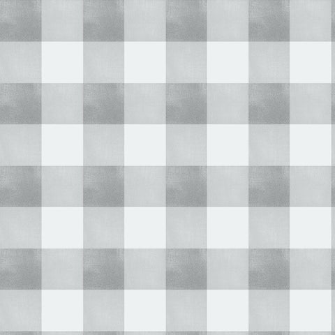Gingham Check - Grey