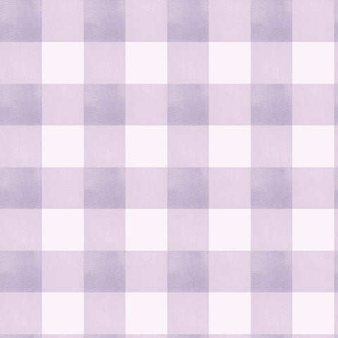 Gingham Check - Lavender