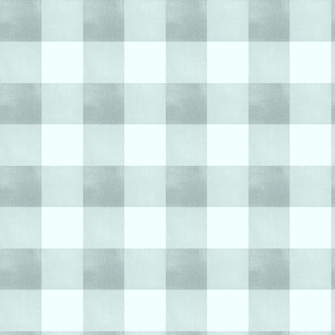 Gingham Check - Seafoam