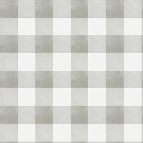 Gingham Check - Stone