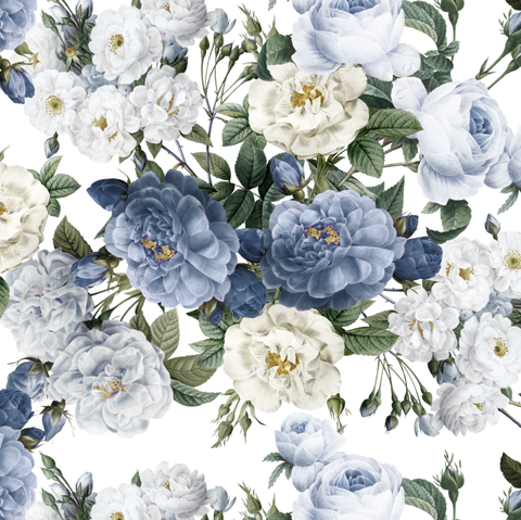 Heritage Roses - Blue