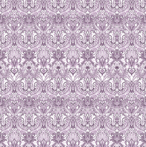 Indienne Paisley - Grape