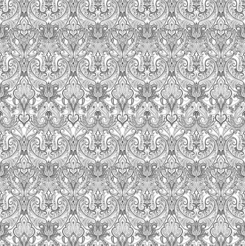 Indienne Paisley - Grey