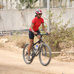 Kavitha cycling