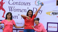 Chandra at Contours Womens's Day Run