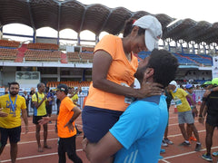 Sid lifting Chandra post stadium run