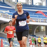 Chandra at the stadium run