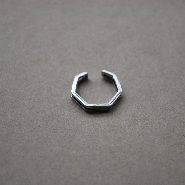 Game On - Stacked Hex Nut Ring
