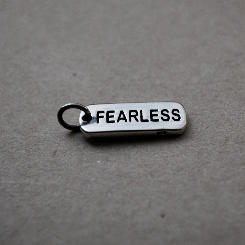 Empower Collection: Fearless Tag Charm