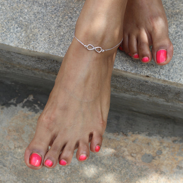 Winged Soles Collection: Infinity Anklet