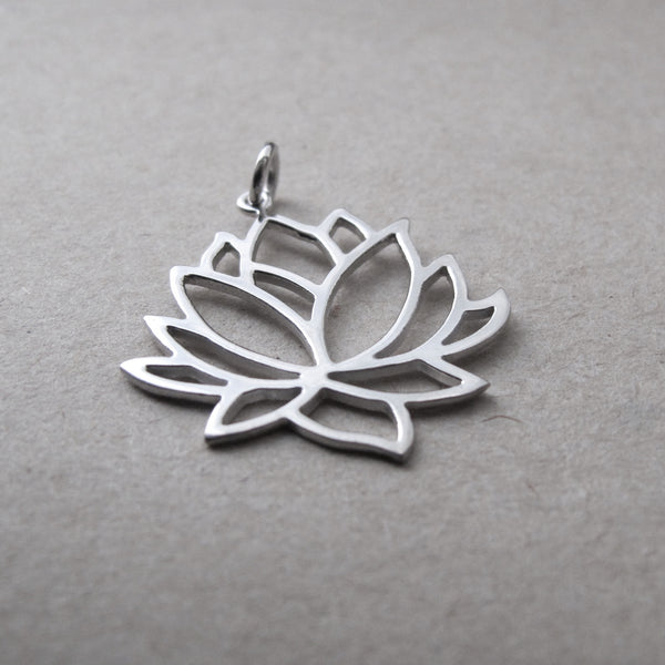 Moksha Collection: Lotus Pendant