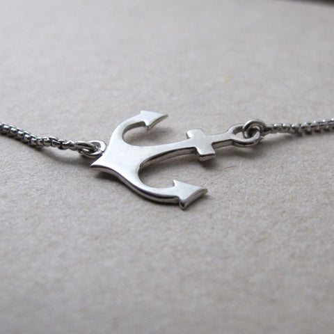 Timeless Magic: Anchor Anklet
