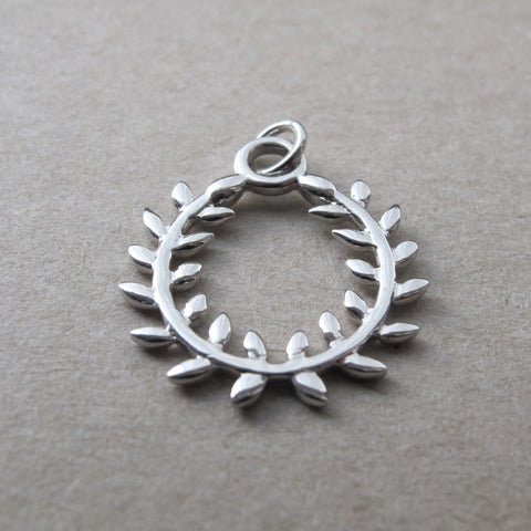 Game On: Olive Wreath Pendant - SALE