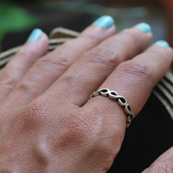 Timeless Magic: Infinity Ring