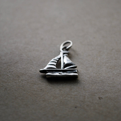 Wild Wanderer - Sailboat Charm - SALE