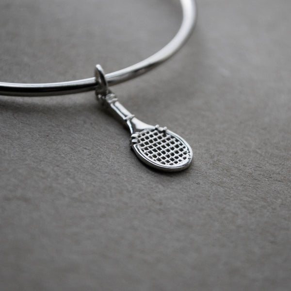 Game On - Tennis Racket Charm