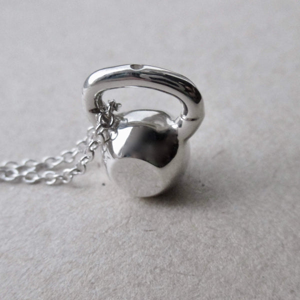 Be Lifted: Kettlebell Pendant