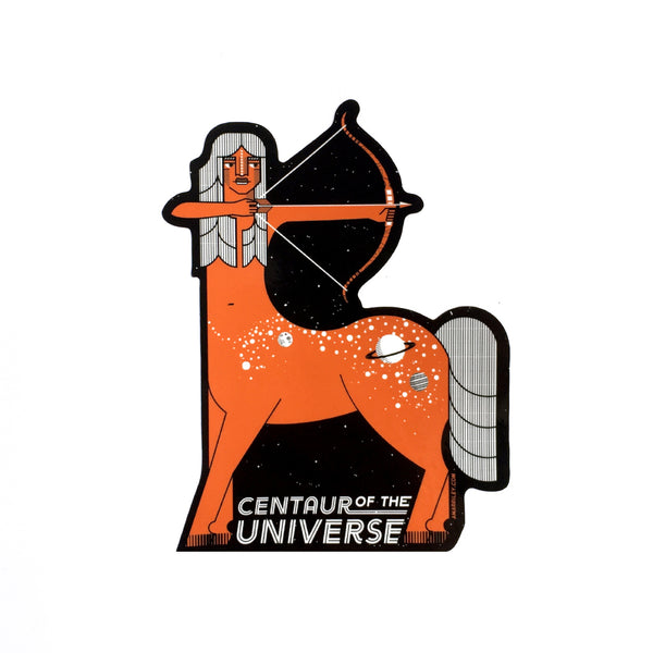 Centaur of the Universe Sticker