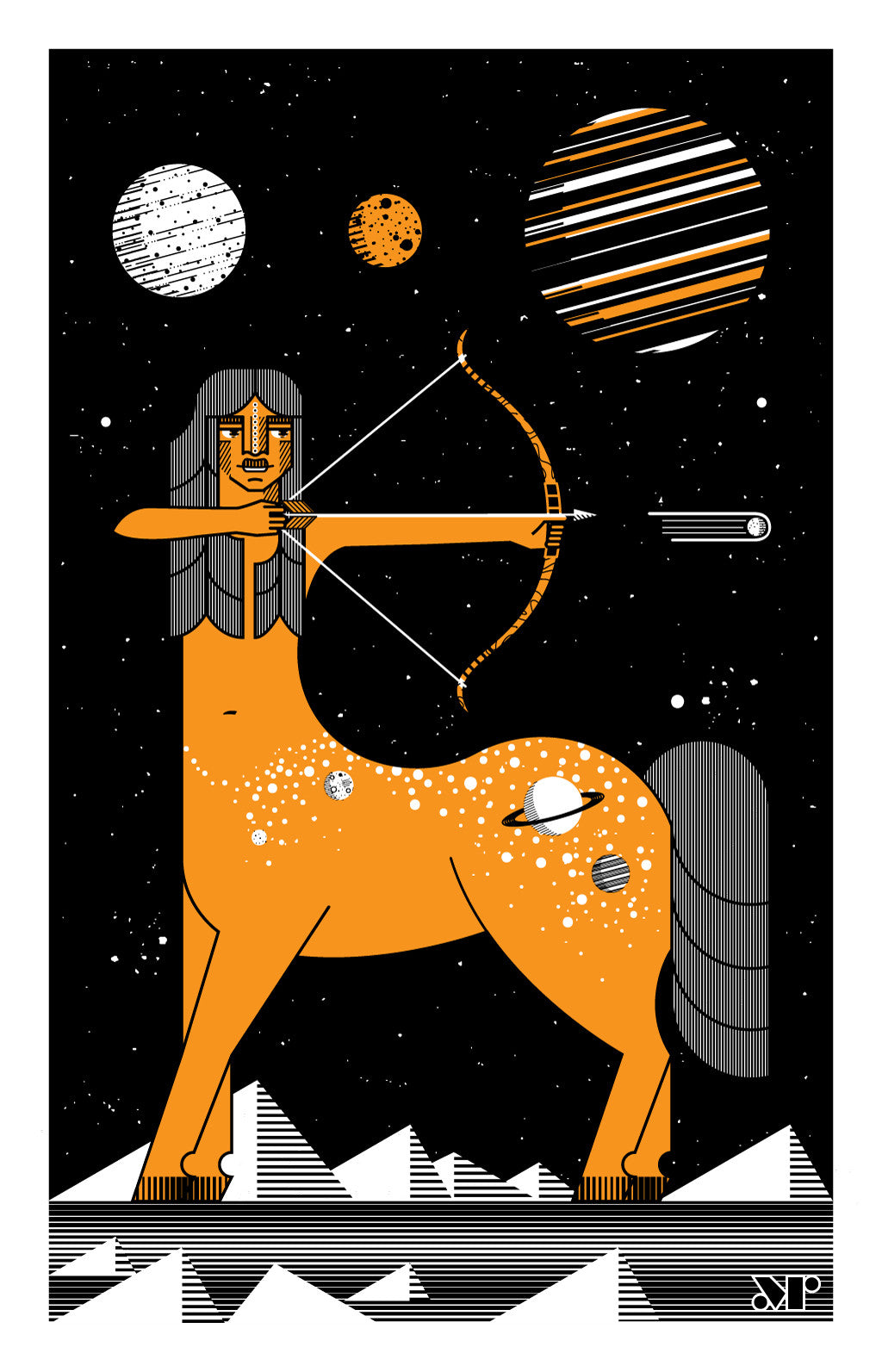 Centaur of the Universe Digital Print