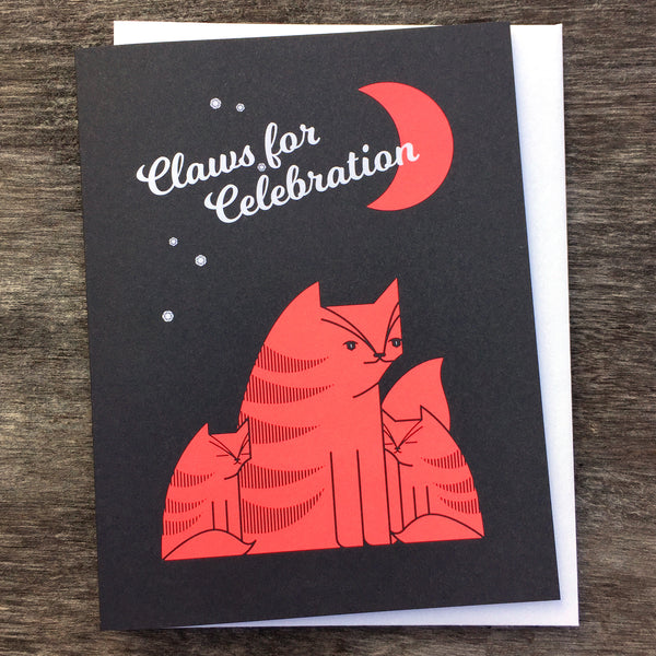 Claws for Celebration Card