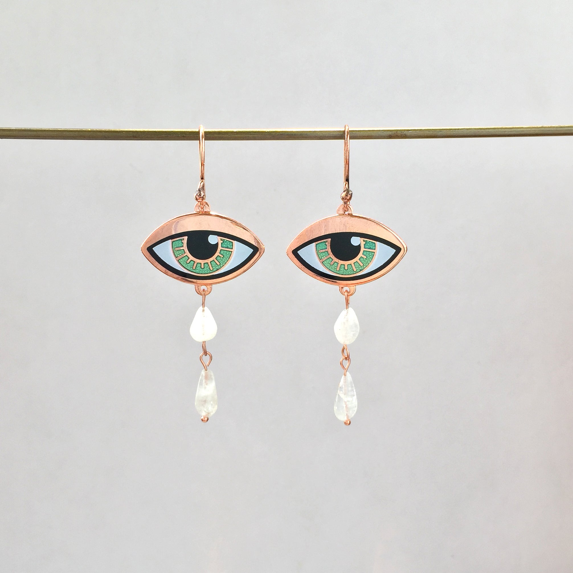 Ersa Earrings Double