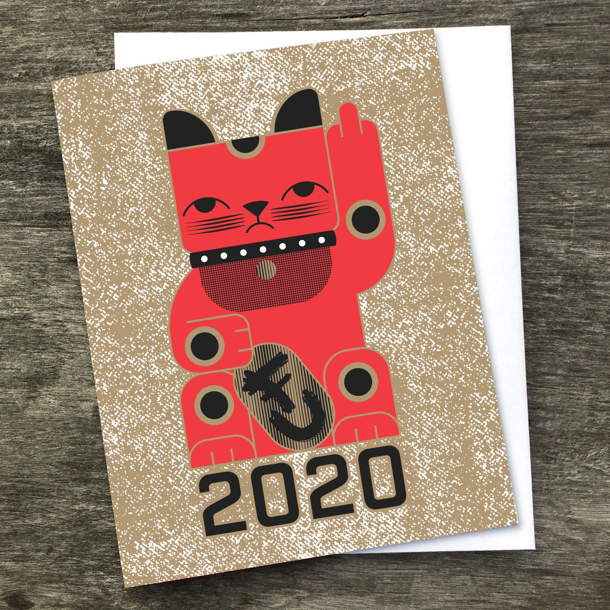 Goodbye Kitty 2020 Card (PREORDER)