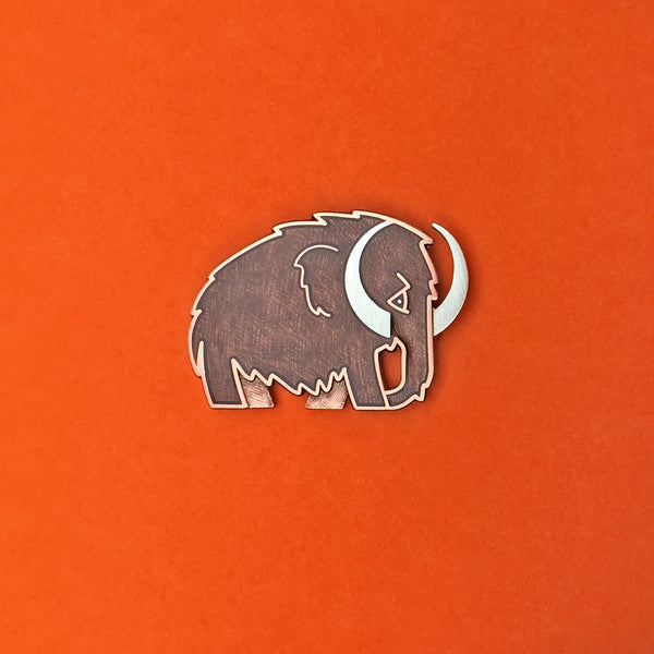 Woolly Mammoth Pin