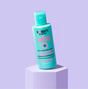 Noughty The Booster skin toning and firming body serum for cellulite prone, dull and uneven skin on the thighs, stomach and bum. Natural bodycare vegan cruelty free natural sulphate free paraben free