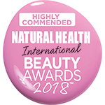 Natural Health 2018 Highly Commended