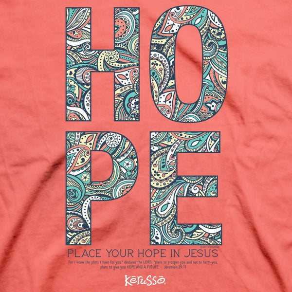 Hope in Jesus - Women's Christian T-shirt