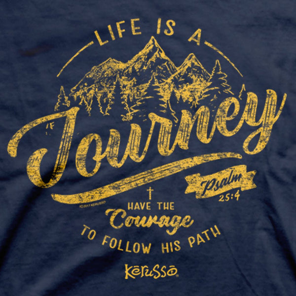 Life is a Journey Women's Christian T-shirt